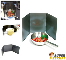 Frying Pan Splatter Guard Non Stick 3 Sided Fry Skillet Cookware Kitchen Ware