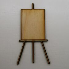 Easel Laser Cut Wood Shape Craft - Unfinished