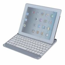Ultra Slim Bluetooth Wireless Aluminum Keyboard Case Cover Stand for iPad 5 E1