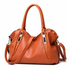 Women Leather Chic Handbag Shoulder Bag Purse Messenger Crossbody Satchel Tote