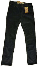 NWT $44 Boys Levis 511 Slim Fit Charcoal Corduroy Pants