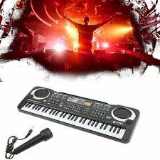 54-61 Key Music Electronic Keyboard Electric Digital Piano Organ w/Stand JG