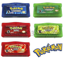 Pokemon Game Card 5 Versions for Pokemon GBA/GBM/SP/NDS Collection GameBoy NEW