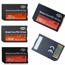 8/16/32G MS Memory Stick PRO-HG Duo Media MagicGate Card For Sony PSP 1000 2000