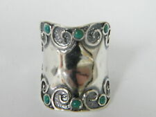 New SHABLOOL Band Ring Fine Turquoise Women Jewelry 925 Sterling Silver