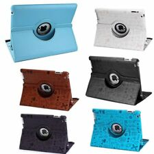 """360° Rotating Folio Stand Smart Leather Case Cover For Apple iPad 2 3 4 air 9.7"""""""