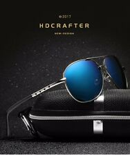 Men Polarized Outdoor Aviator Sunglasses New 7 Styles HDCrafter Brand Designer