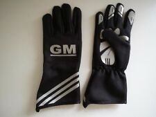 GM BLACK Kart Gloves, GO Kart Gloves, Karting Gloves, Kart Racing Gloves Gloves