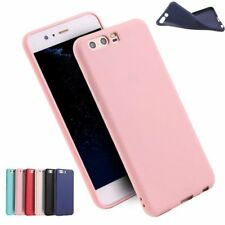 Ultra-Thin Slim Soft TPU Silicone Matte Candy Case Back Cover For Huawei Series