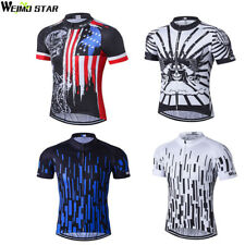 USA Cycling Jersey Men mtb Jersey cycling clothes Wear Top Breathable bike shirt