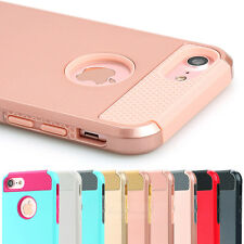 New Dirt Dust Proof Hybrid Rubber Shockproof Hard Case Cover for iPhone 8 8 plus