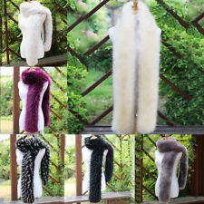 10 Colors Women Faux Fur Scarf Shawl Collar Stole Cape Scarves Winter Scarf Wrap