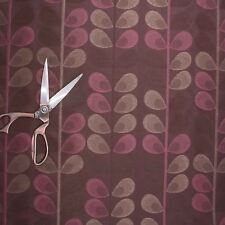 HIGH QUALITY DOUBLE SIDED CURTAIN JACQUARD GRAND FLORAL PRINT FABRIC MATERIAL