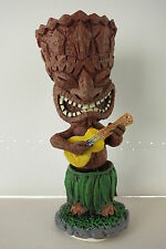 Dashboard Doll Tiki 50s Rockabilly Hawaii Kustom Kulture Ukulele Hula Wobbler
