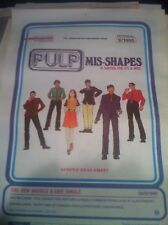 < PULP - MIS-SHAPES / SORTED FOR E'S original music magazine advert small poster