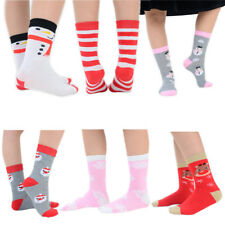 12 Pairs of Kids Christmas Ankle Socks For Girls & Boys With Colourful Designs