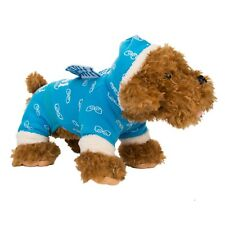 New Blue Cute Cat Puppy Apparel Clothes Dog Sweater Pullover Sweats Dog Sweater