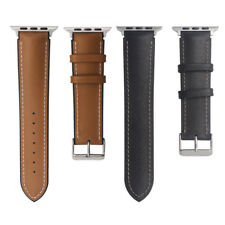 For Apple Watch iWatch 38mm/42mm Genuine Leather Band Strap Bracelet Watchband