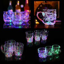 Liquid Activated Color Change Mug LED Automatic Light Cup Flashing Cup