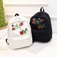 Girls School Bag Canvas Fashion Women Handbag Backpack Satchel Shoulder 1 Pcs
