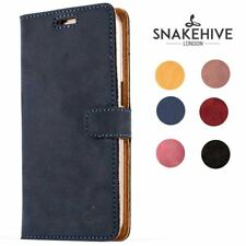 Snakehive® Samsung Galaxy S7 Vintage Leather Folio Wallet Phone Case Card Slots