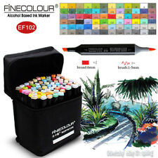 FINECOLOUR Brush Sketch Marker Pen Environment Art Design 36/48/60/72 Colors Set