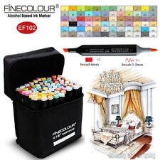 FINECOLOUR Borad Brush Sketch Marker Pen Interior Design 36/48/60/72 Colors Set