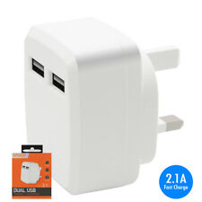 2.1A Fast Charge USB Mains Charger Adapter for Yarvik TAB275 GoTab Ion Tablet