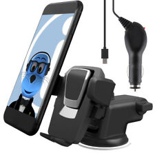 Auto Grip Suction Car Holder and Charger for Samsung S5570 Galaxy Mini