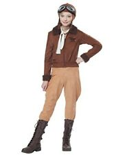 California Costumes Amelia Earhart Aviator Child Costume