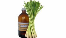 PURE LEMONGRASS OIL AROMATHERAPY NATURAL UNDILUTED ESSENTIAL OIL 2ML TO 500ml