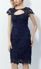 TEABERRY Cut Out Lace Dress BNWT NAVY BLUE 8 10 12 14 16 Cocktail Evening