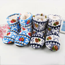 Women Slippers House Indoor Warm Shoes Winter Soft Plush Home Floor Cute Slipper