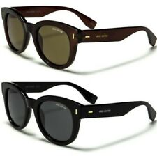 NEW BLACK SUNGLASSES POLARIZED MENS LADIES WOMENS LARGE RETRO VINTAGE DESIGNER