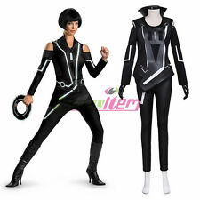 Tron: Legacy Quorra Adult Women's Jumpsuit Cosplay Costume  custom made