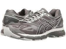 NEW Mens ASICS Carbon/White/Silver GEL-NIMBUS 19 Athletic Running Shoes