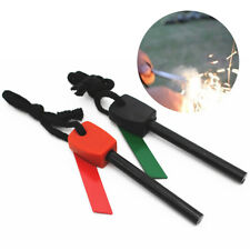 Magnesium Flint Stone Fire Starter Lighter Firesteel Emergency Outdoor Survival