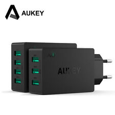 AUKEY Universal 4 (3) Port USB Charger Travel Wall Charger Adapter For CellPhone