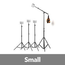 Hypop Professional LED Photo Video Continuous Portable Lighting Boom Kit & Backd