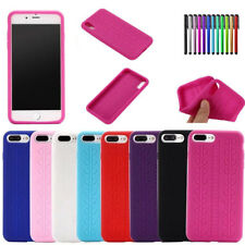 Tyre Tread Pattern  Silicone Gel Rubber Case Cover For iPhone 6 5S 6S 7 8 Plus X