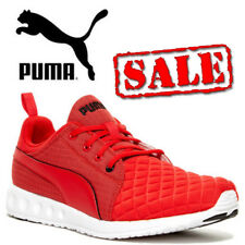 PUMA Carson Runner Quilt Mens Trainers High Risk Red Joggers Shoes CLEARANCE