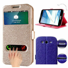 Wallet Flip PU Leather Phone Case Cover For Samsung S6(Edge) S7(Edge) S8(Plus)