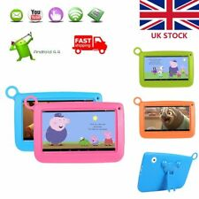 """7"""" Quad Core Tablet PC for Kids Google Android 4GB 512MB Dual Camera UK"""