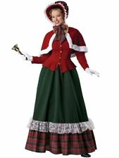 Yuletide Lady Holiday Christmas Caroling Costume