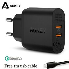 AUKEY Quick Charge 3.0 Fast USB Charger for Samsung Xiaomi iPhone Phone Charger