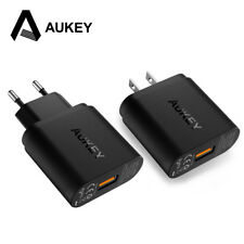 For Qualcomm Certified AUKEY Quick Charge 3.0 Smart USB Cell Phone Wall Charger