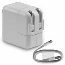 New USB Charger Cable & 12w Adapter Wall Charger for Apple Ipad, Iphone, Ipod