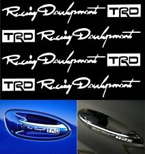 4XWholesale TRD Car Stickers Auto Door Knob Handle Decals Reflective Paster Tags