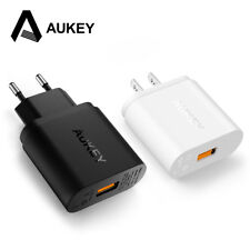 AUKEY Quick Charge 2.0 Phone Charger 18W USB Wall Charger Smart Fast Charging