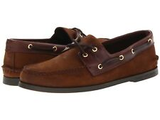 NEW Mens SPERRY TOP-SIDER Brown/Buc Brown A/O AUTHENTIC ORIGINAL Boat Shoes